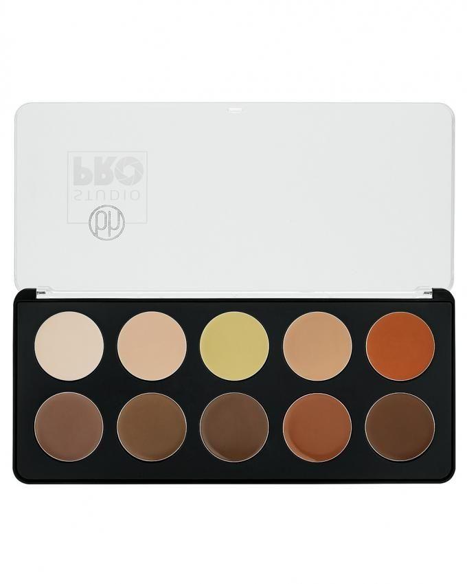 Studio Pro Cream Contour Palette - 10 Colors