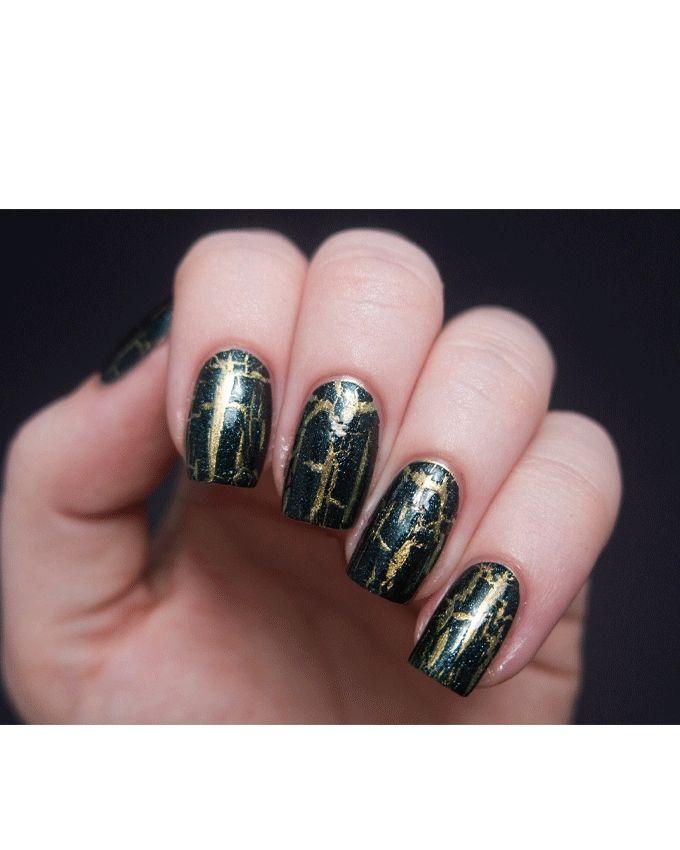 Nail Polish - SR E59 Yellow Shatter Paint - 15ml
