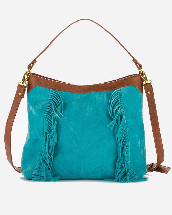 Deeda Hippie Hand Bag - Blue