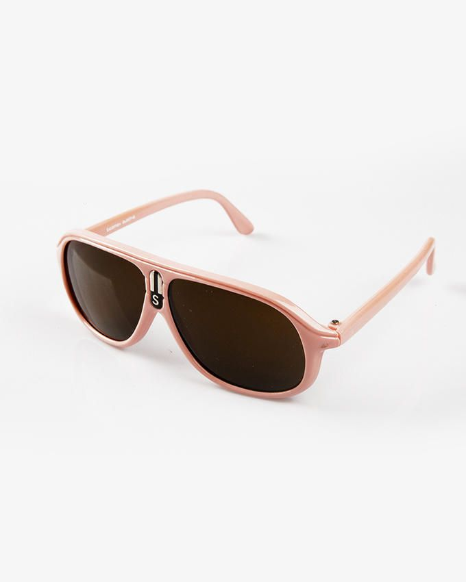 Ticomex Aviator Inspired Kids Sunglasses - Baby Pink