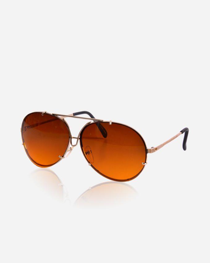 Ticomex Aviator Inspired men's Sunglasses - Gold