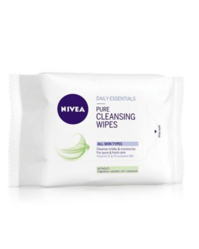 Pure Facial Cleansing Wipes - 25 Pcs