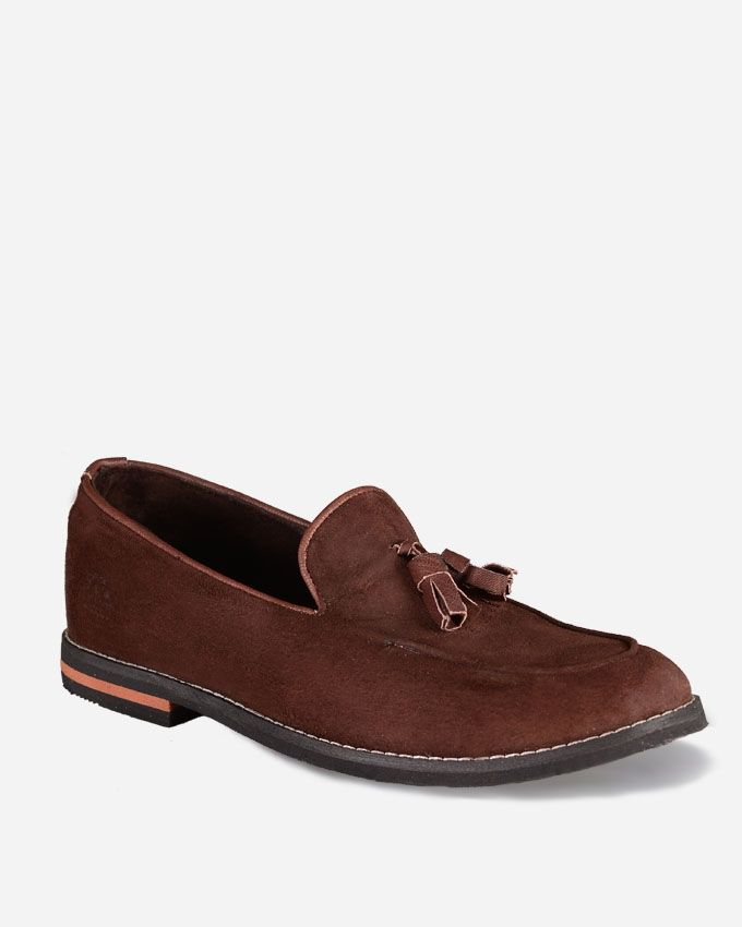 Divinch Fringed Suede Shoes Brown Buy Online Jumia Egypt