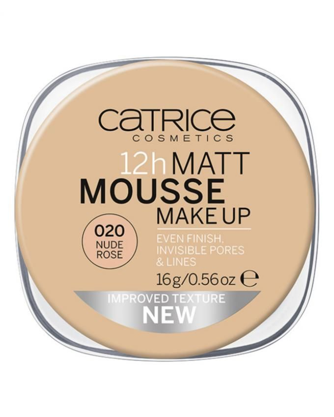 12h Matt Mousse Makeup - 020 Nude Rose
