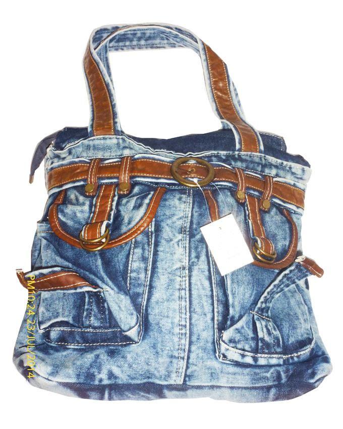 Friends Blue Jeans Hand Bag