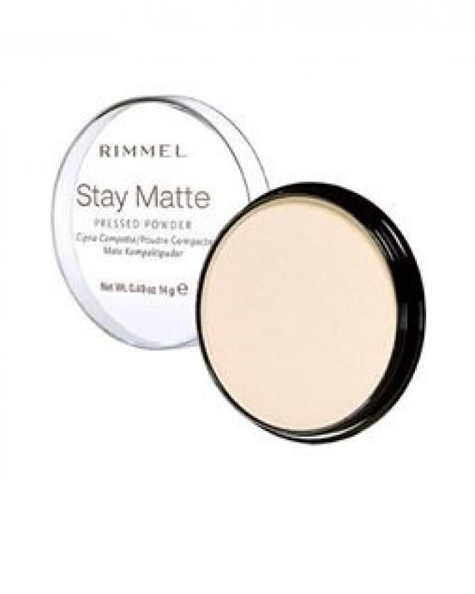 Stay Matte Pressed Powder - Transparent