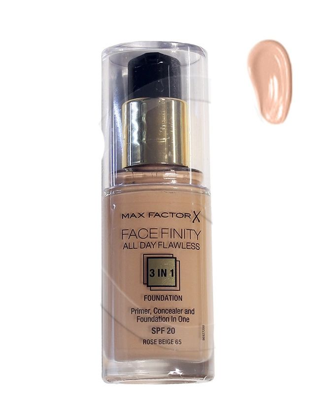 Face Finity 3 IN 1 Foundation - 65 Rose Beige