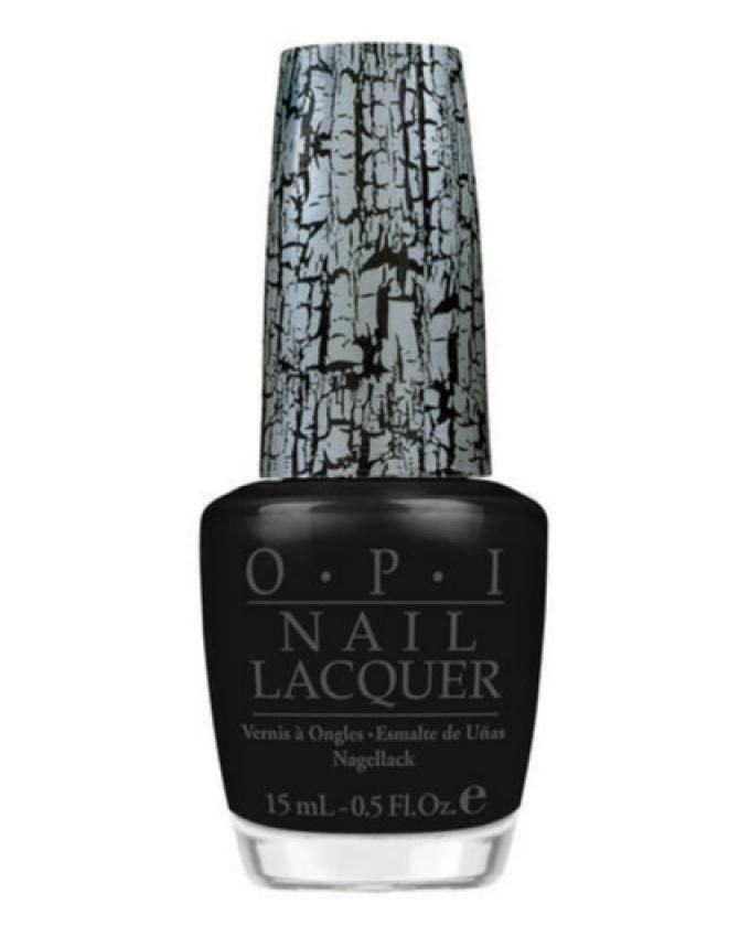 Nail Polish - NL E53 Black Shatter - 15ml