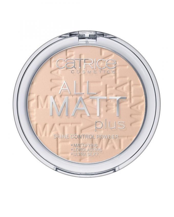 All Matt Plus - Shine Control Powder - 010 Transparent