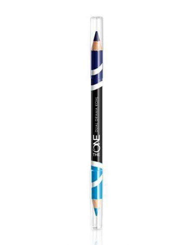 Express Dual Drama Kohl Eye Pencil - Cyan Navy