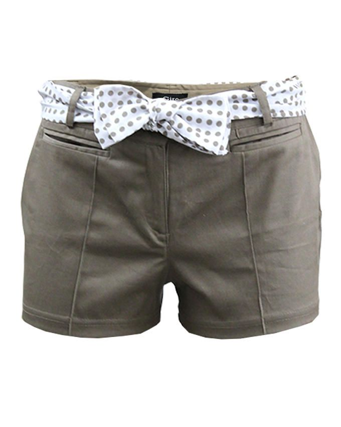 Giro Cafe Gabardine/Cotton Shorts
