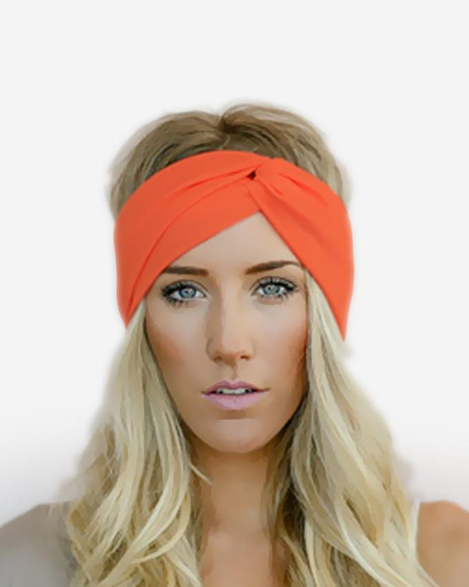Dinardo Orange Head Band