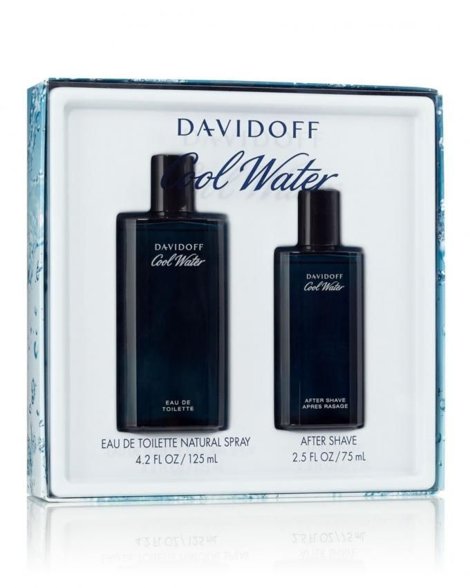 Cool Water Set - EDT - For Men - 125ml + After Shave - 75ml