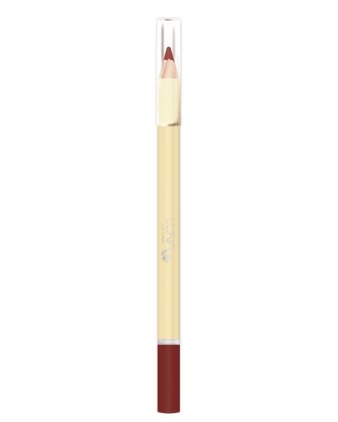لونا قلم محدد للشفاه أحمر غامق