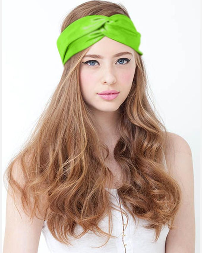 Dinardo Neon Green Head Band