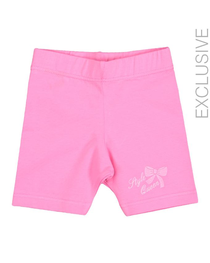 Stummer Pink Cotton Shorts logo