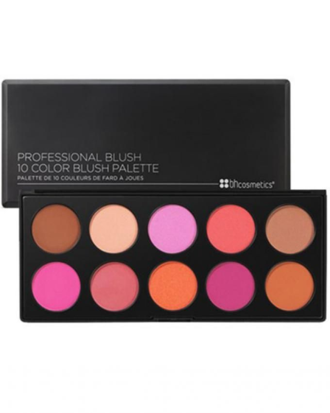 Professional Blush Palette - 10  Pcs