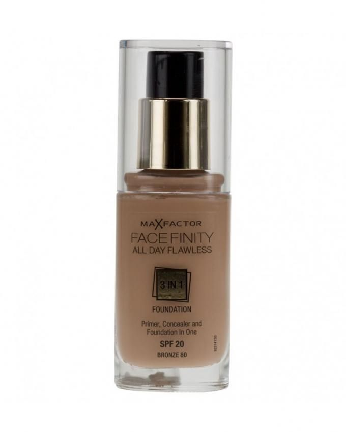 Face Finity 3 IN 1 Foundation - 80 Bronze