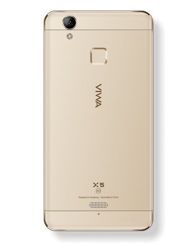 موبايل X5 - 5.0 بوصة - ثنائى الشريحة 4G - ذهبي