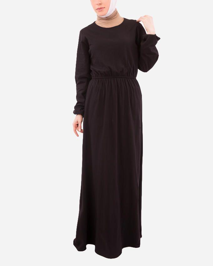 Glow Maxi Dress - Black