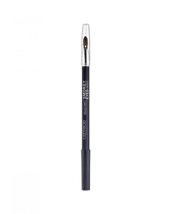 Velvet Matt Smokey Eyes Pencil - 010 Please, Mauve Black