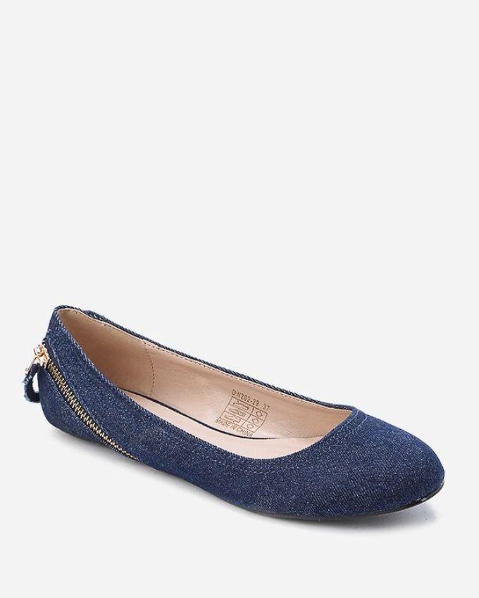 Mr Joe Ballet Flat Shoes Blue Buy Online Jumia Egypt