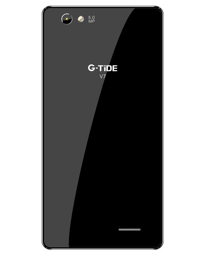 V7 - موبايل ثنائي الشريحة 5 بوصة - أسود