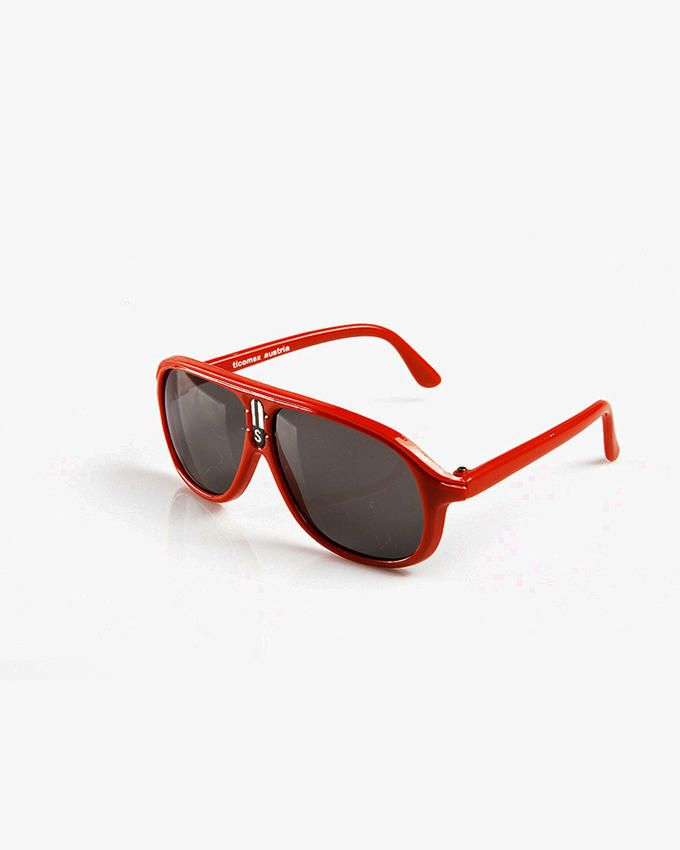 Ticomex Aviator Inspired Kids Sunglasses - Red