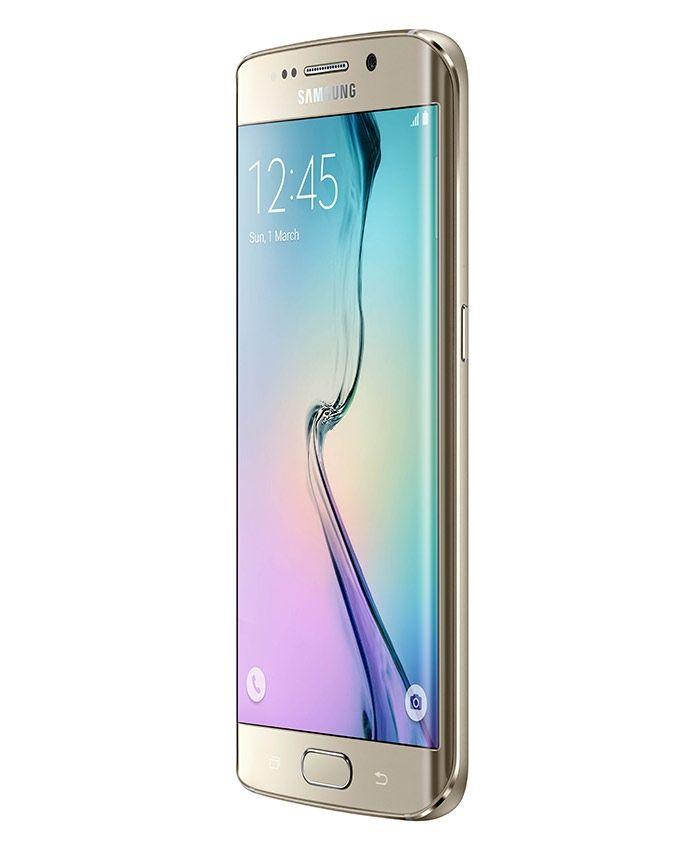 جالاكسي إس 6 إيدج - شاشة 5.1 بوصة - 32 جيجا بايت – ذهبي Platinum
