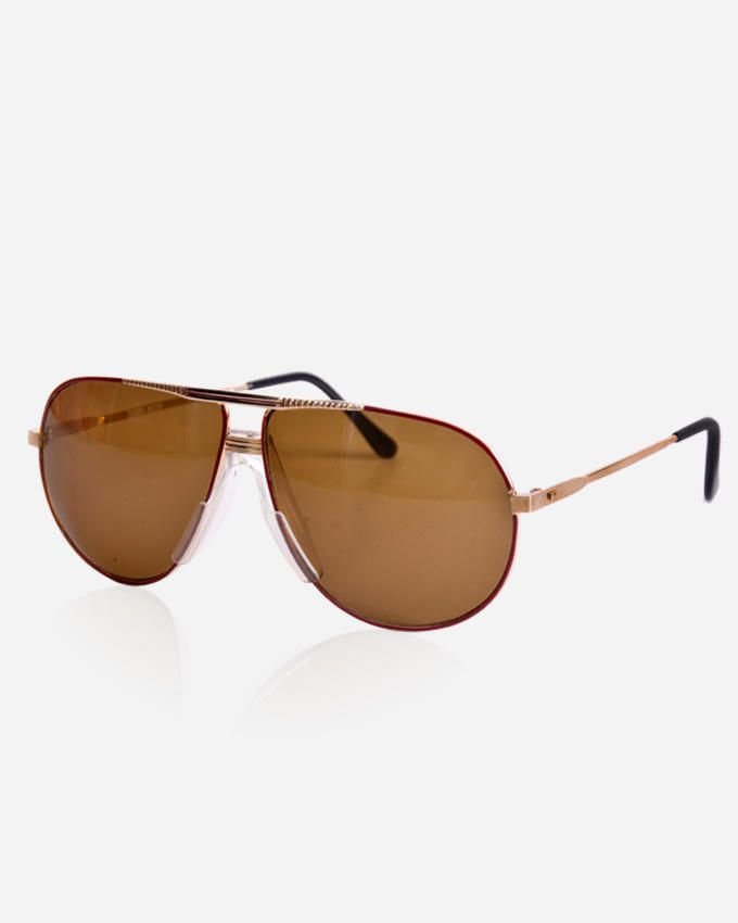 Ticomex Aviator Inspired men's Sunglasses - Gold x Orange