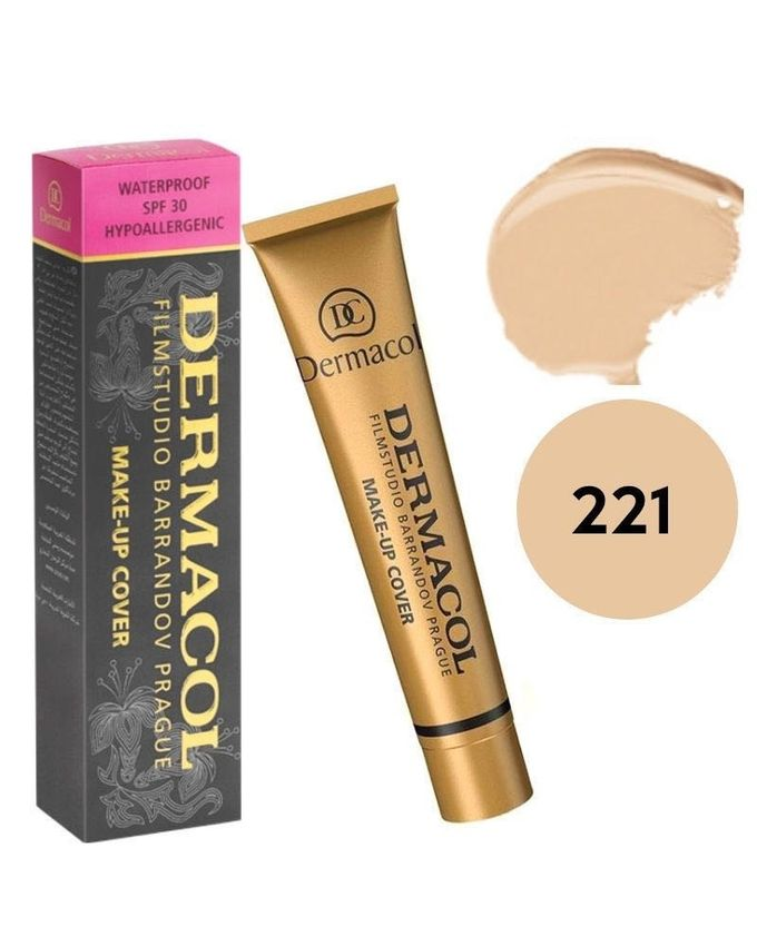 221 Waterproof Make-Up Cover Foundation - 30g