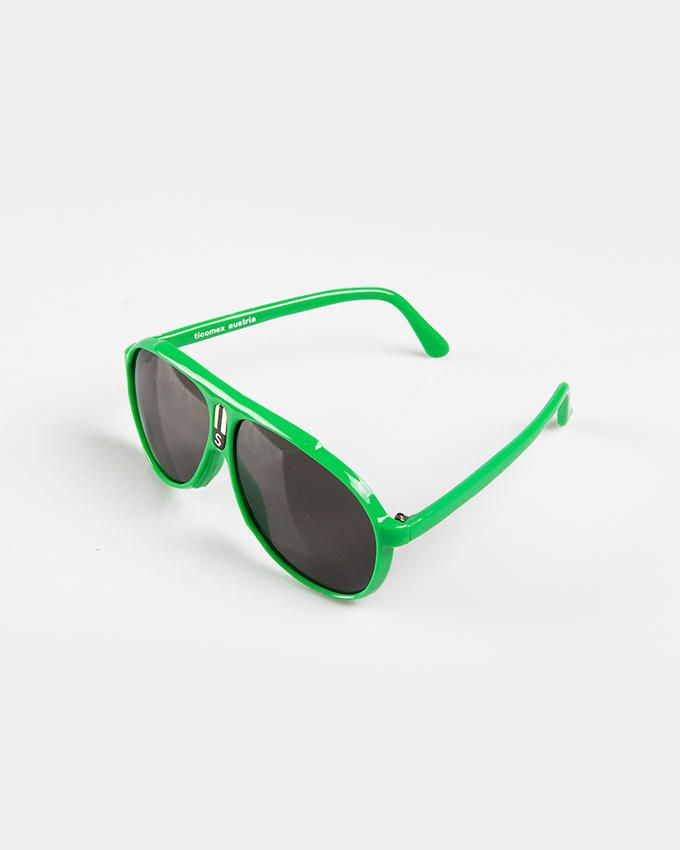Ticomex Aviator Style Kids Sunglasses - Green