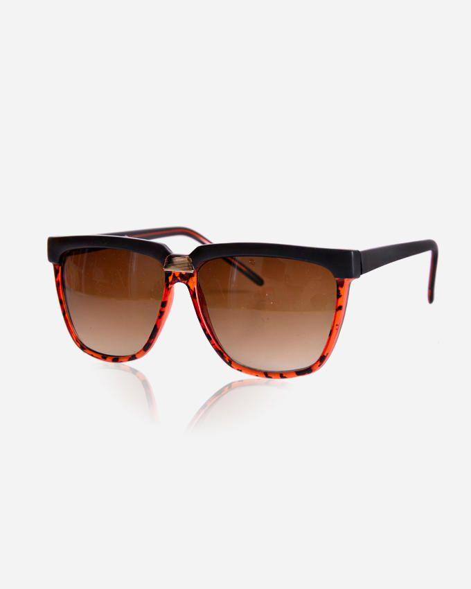 Ticomex Square Shaped Women's Sunglasses - Havana x Black