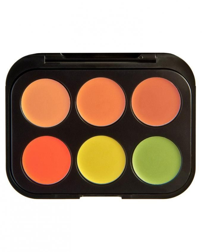 Concealer & Corrector Palette - 6 Colors - Medium