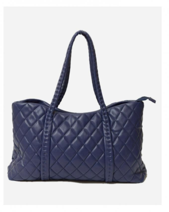 شنطة يد حريمى زرقاء Koukla Quilted Hand Bag
