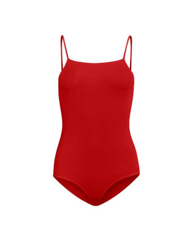 Silvy Wave 4 Lolita Red Lycra Bodywear