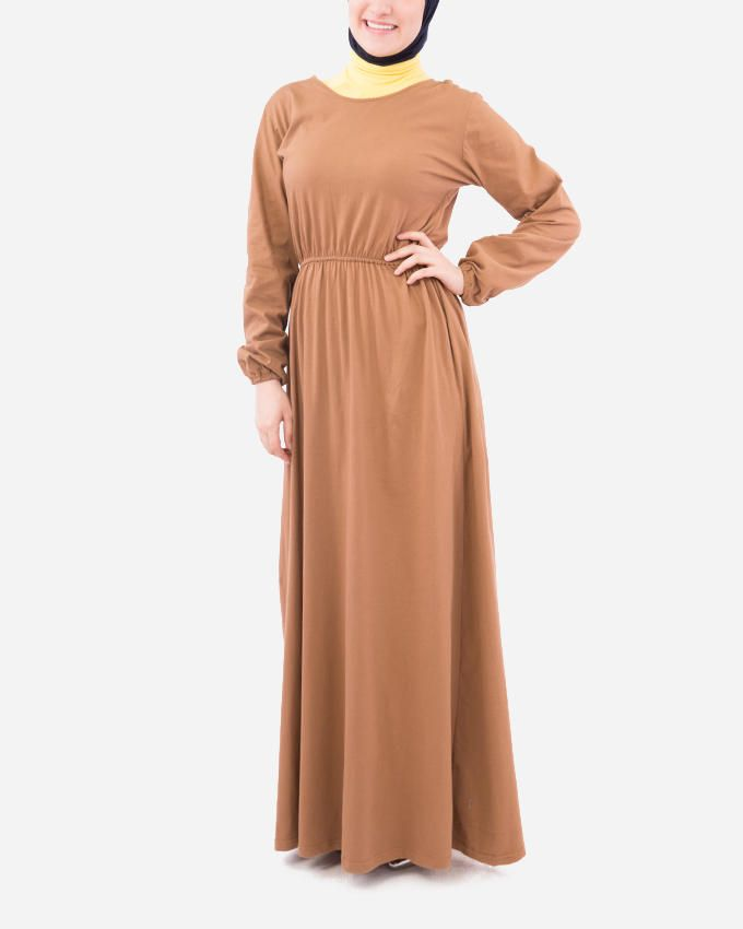 Glow Maxi Dress - Camel