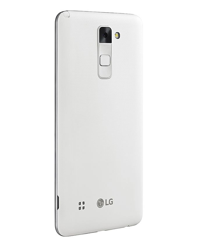 موبايل Stylus 2 - شاشة 5.7 بوصة - ثنائي الشريحة 4G Dual SIM - أبيض + غطاء Voia CleanUp Premium