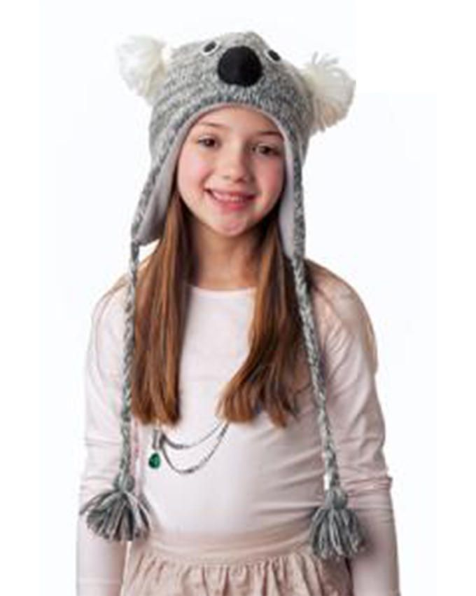 Panda Hats HB-WH043 Knit Walla Koala - Grey