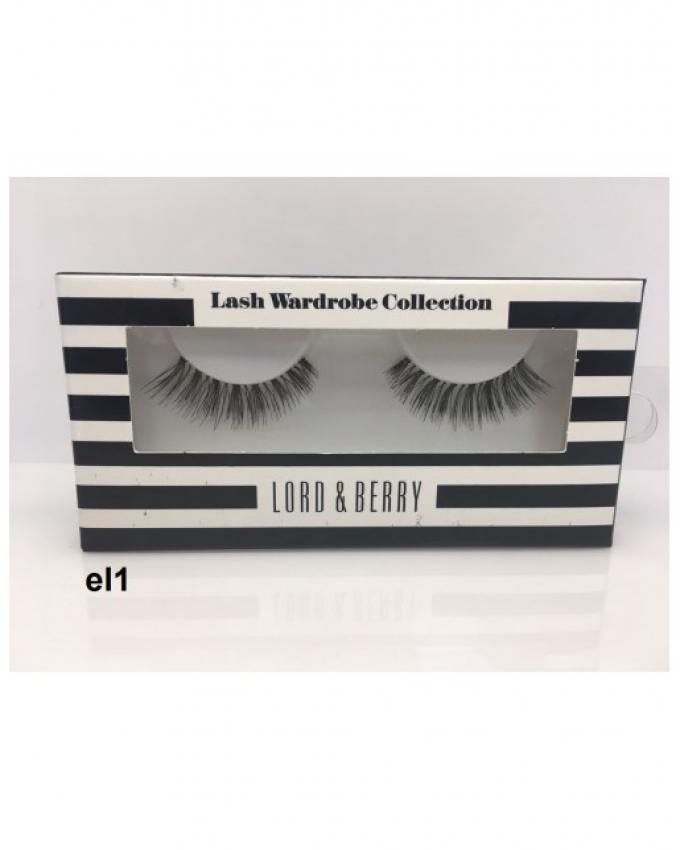Eye Lashes - EL 1 – Black