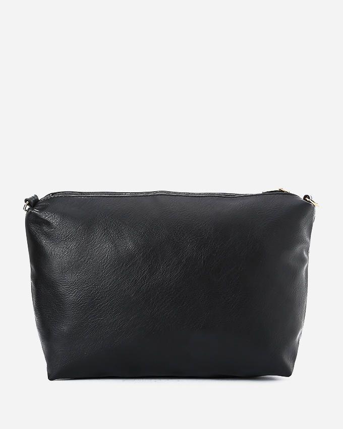 9fe0406a4decd شنط يد حريمى فى مصر  Divas حقيبة كتف حريمى سوداء كبيرة الحجم مطبوعة