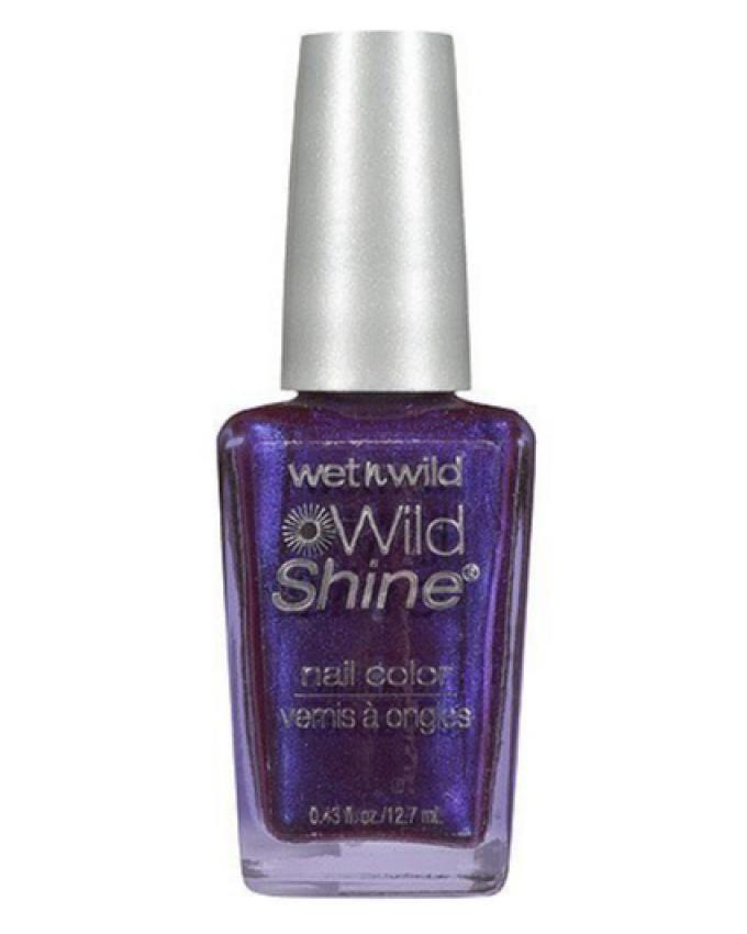 Shine Nail Polish - 417F Eggplant Frost
