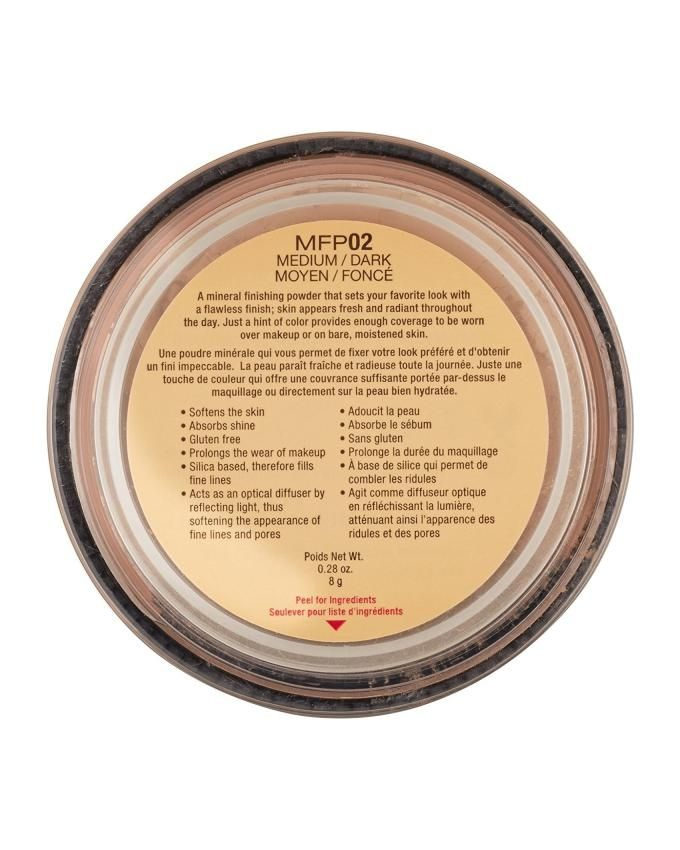 Mineral Set It & Dont Fret It Matte Finishing Powder – MFP02 Medium/Dark