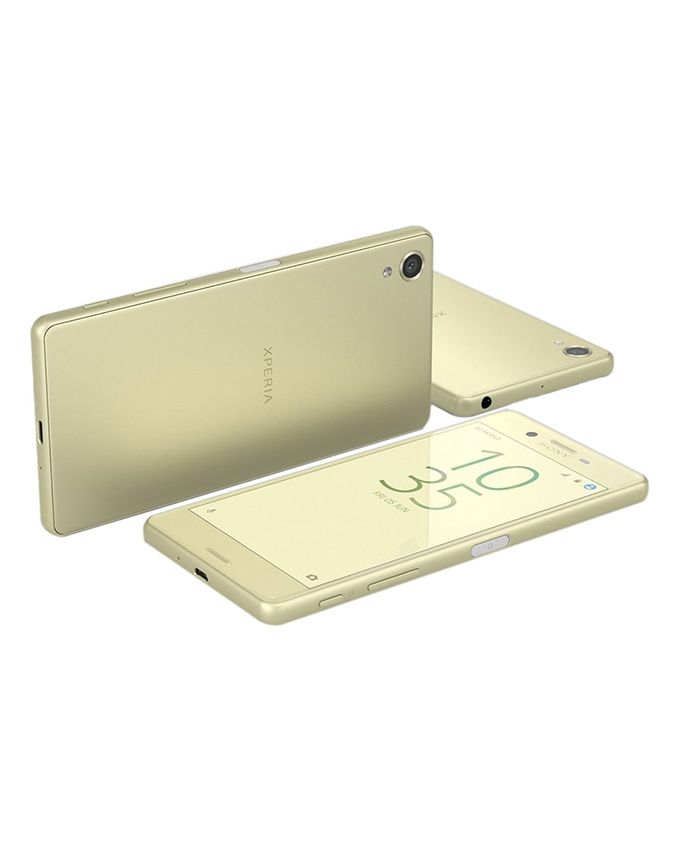 Xperia X Dual - 5.0 - 4G Dual SIM Mobile Phone - Lime Gold
