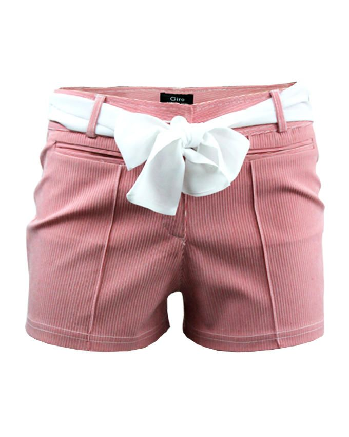Giro Pin Striped Shorts - Watermelon