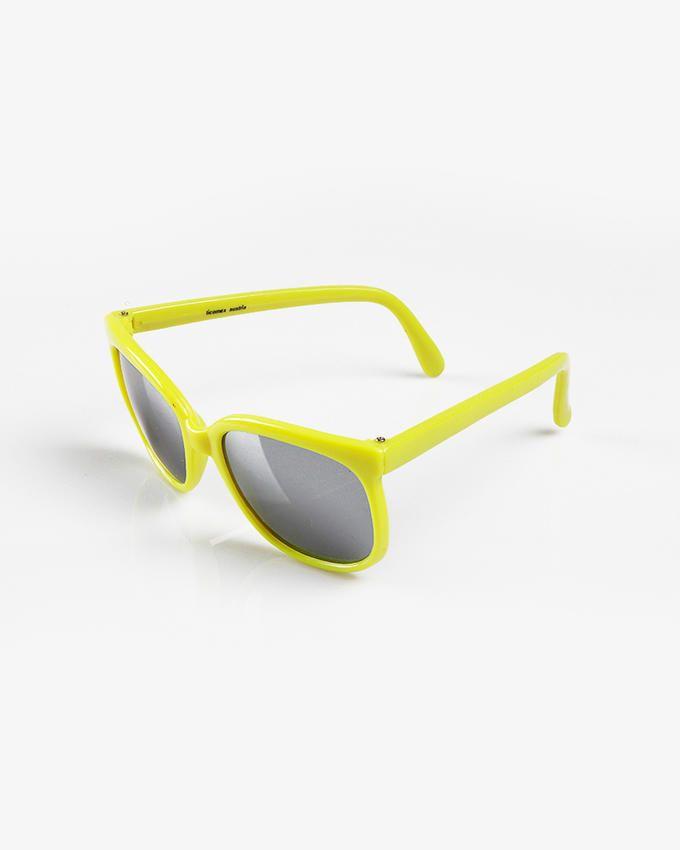 Ticomex Vintage Square Kids Sunglasses - Yellow