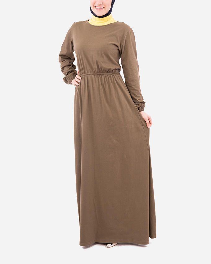 Glow Maxi Dress - Olive