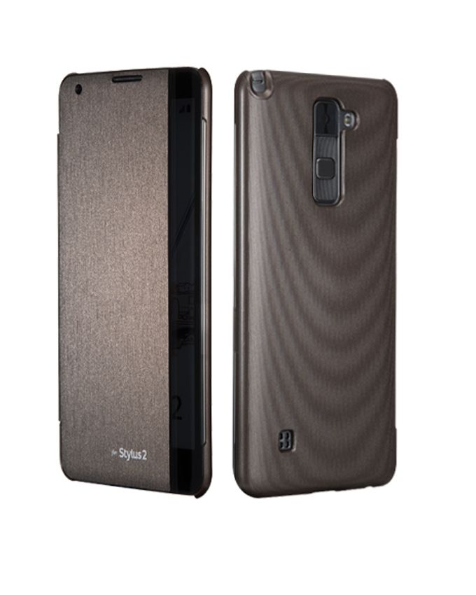 Stylus 2 - 5.7 - 4G Dual SIM Mobile Phone - Brown + Voia CleanUp Premium Case