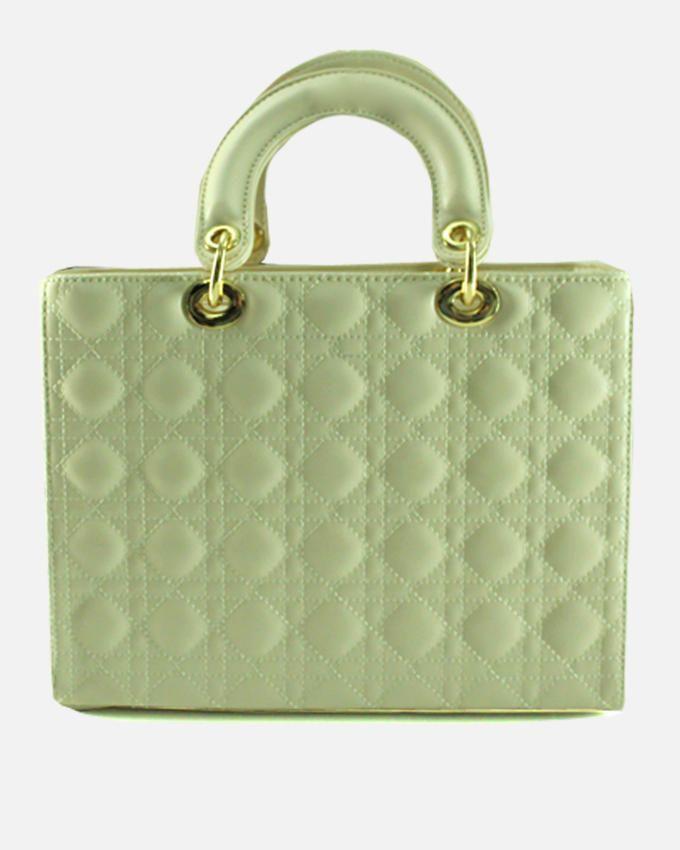 Smooches Smooches Cosmopolitan Cream Quilted Hand Bag