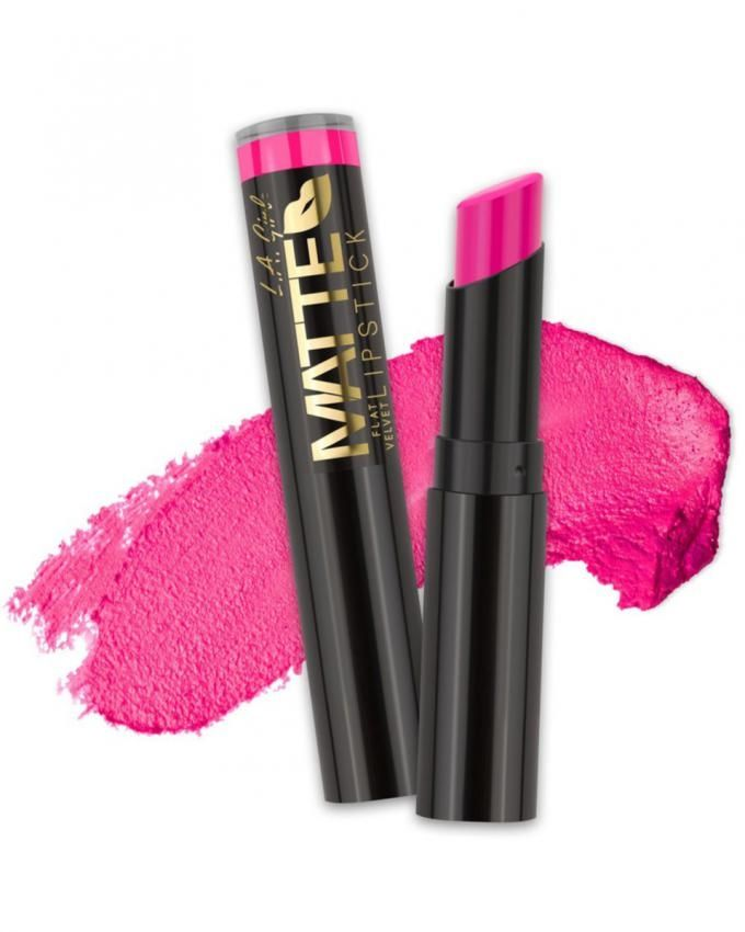 Matte Flat Velvet Lipstick - Electric
